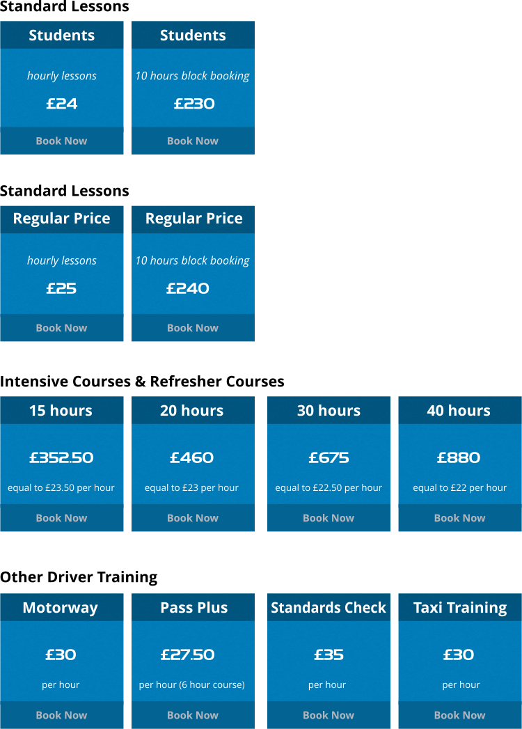 Bristol driving lessons prices