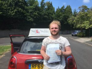 Alex Passed First Time with Just 2 Faults With Steve Evans