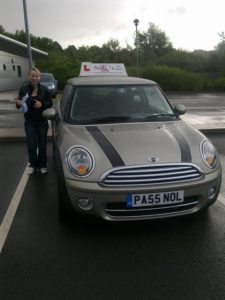 Caterina passed first time