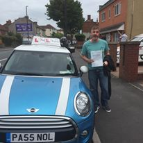 I passed my extended test first time with just 2 faults with Pete 8/7