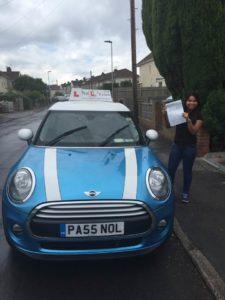 I passed with just 2 faults with Pete