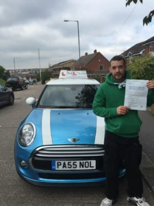 Mark passed with just 2 faults