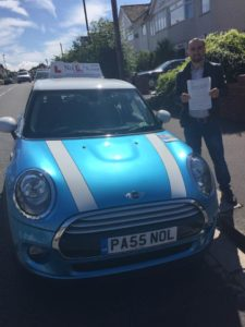 Passed First Time With One Fault With Pete